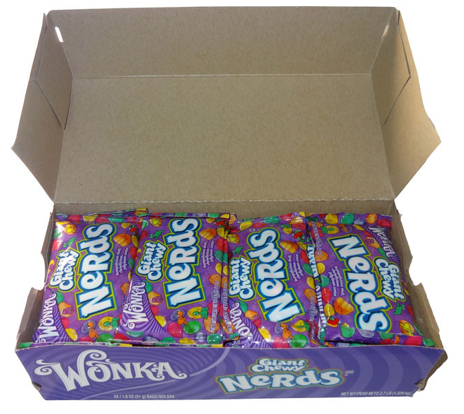 Wonka Giant Chewy Nerds, by Wonka,  and more Confectionery at The Professors Online Lolly Shop. (Image Number :6160)