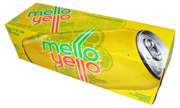 Mello Yello, by Dr Pepper,  and more Beverages at The Professors Online Lolly Shop. (Image Number :4208)