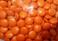 Choc Drops - Orange Single Colour Smarties clones (Our main image of this Confectionery)