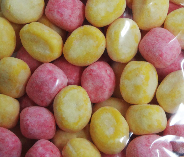 Bon Bon - Rhubarb and custard, by Kingsway,  and more Confectionery at The Professors Online Lolly Shop. (Image Number :4982)