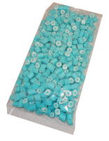 Light Blue and White Star Blue Raspberry Rock Candy, by Designer Candy,  and more Confectionery at The Professors Online Lolly Shop. (Image Number :4620)