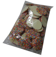 Large White Speckles, by Everfresh Confectionery/Other,  and more Confectionery at The Professors Online Lolly Shop. (Image Number :4368)