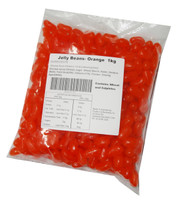 Prydes Jelly Beans - Orange, by Pryde Confectionery,  and more Confectionery at The Professors Online Lolly Shop. (Image Number :4702)