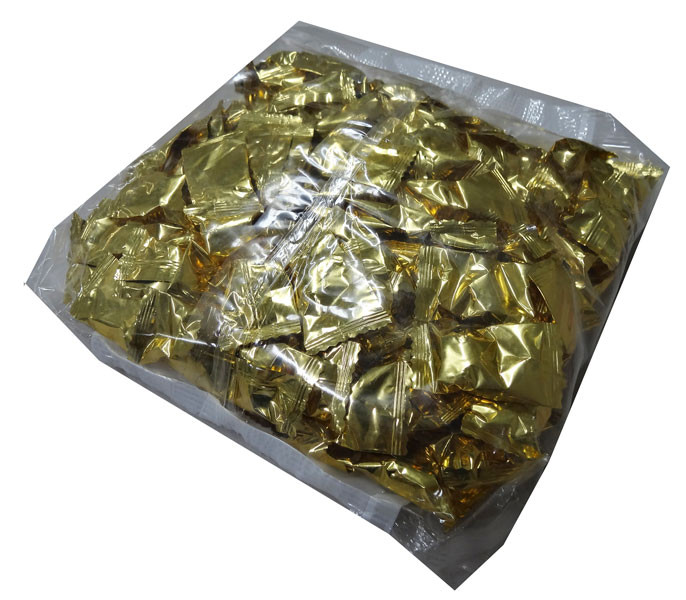 Butter mints -  Gold, by Oriental Trading Company/Other,  and more Confectionery at The Professors Online Lolly Shop. (Image Number :4357)