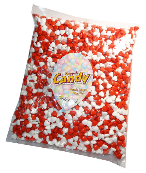 Keep-It-Candy - Heart Shaped Hard Candy Pieces, by Keep-It-Candy/Tasty Treats,  and more Confectionery at The Professors Online Lolly Shop. (Image Number :6330)