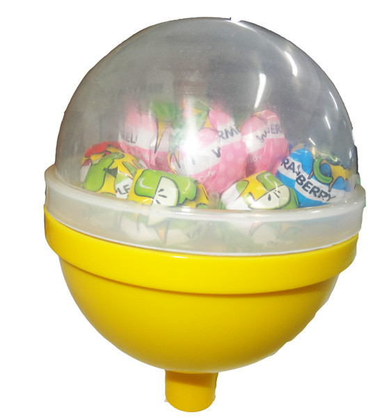 The Mighty Pop - 13 lollipops in a big plastic lollipop, by Other/Tasty Treats,  and more Confectionery at The Professors Online Lolly Shop. (Image Number :4960)