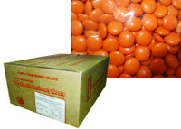 Choc Drops - Orange, by Confectionery House,  and more Confectionery at The Professors Online Lolly Shop. (Image Number :8772)