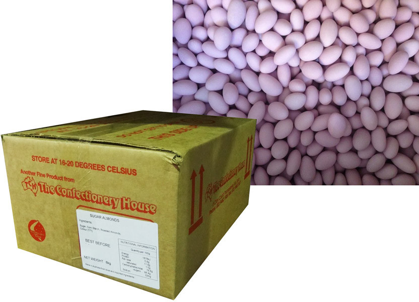 Sugar Coated Almonds -  purple, by Confectionery House,  and more Confectionery at The Professors Online Lolly Shop. (Image Number :8797)