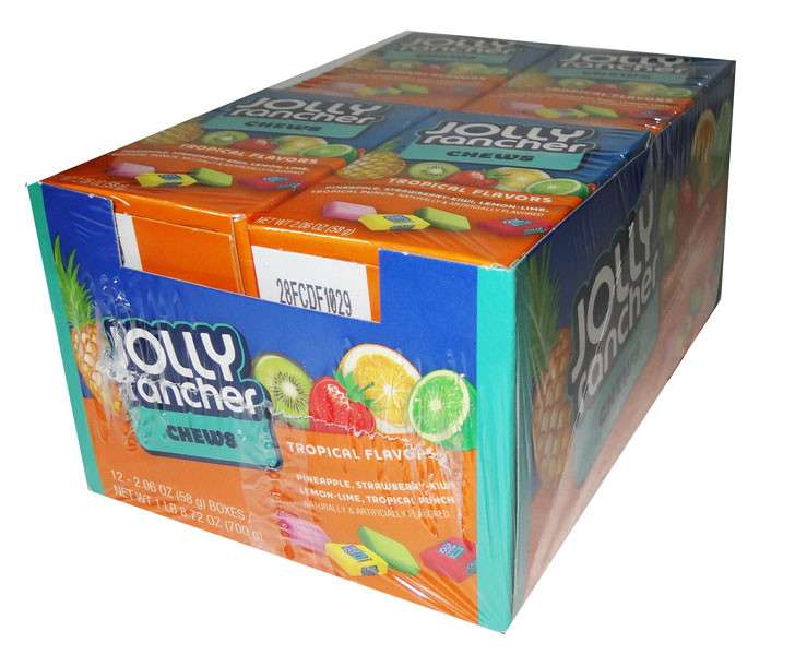 Jolly Rancher Tropical Chews, by Jolly Rancher,  and more Confectionery at The Professors Online Lolly Shop. (Image Number :6509)