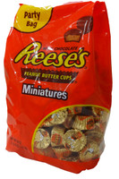 Reeses Mini Peanut Butter Cups - Party Bag, by Reeses,  and more Confectionery at The Professors Online Lolly Shop. (Image Number :4404)