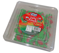 Vidal - Jelly Filled Strawberries, by Other/vidal,  and more Confectionery at The Professors Online Lolly Shop. (Image Number :4643)