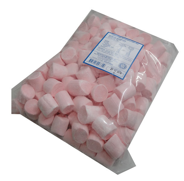 Large Pink Marshmallows, by AllFect Distributors/Marshies,  and more Confectionery at The Professors Online Lolly Shop. (Image Number :4364)