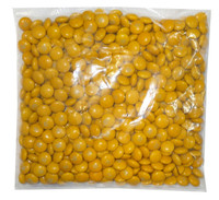 Single Colour M&M s - Gold, by Mars,  and more Confectionery at The Professors Online Lolly Shop. (Image Number :8249)
