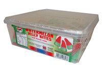 Gummini Watermelon Jelly Bites, by AIT Confectionery,  and more Confectionery at The Professors Online Lolly Shop. (Image Number :4640)