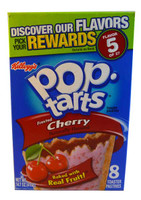 SHORT DATE - Kelloggs Pop Tarts - Frosted Cherry (Our main image of this Beverage)