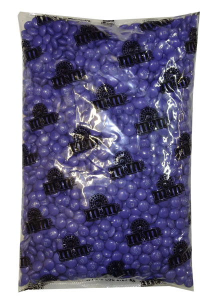Single Colour M&M s - Purple, by Mars,  and more Confectionery at The Professors Online Lolly Shop. (Image Number :8289)