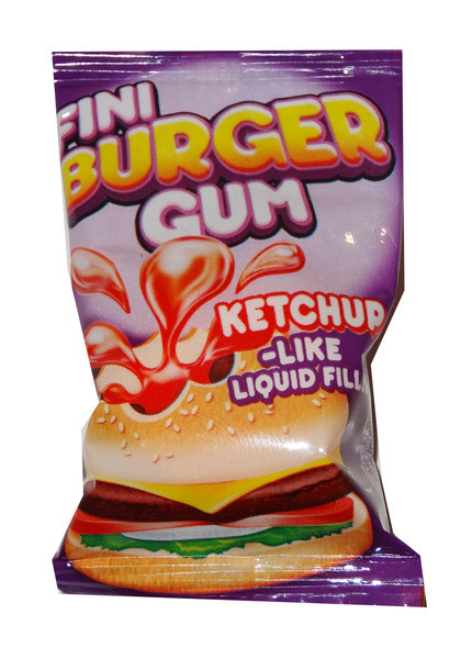 Fini Burger Gum, by Fini,  and more Confectionery at The Professors Online Lolly Shop. (Image Number :4384)