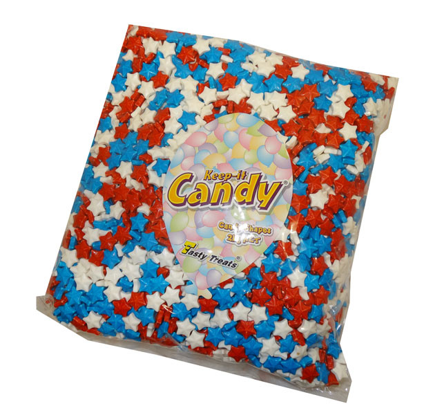 Keep-It-Candy - Star Shaped Hard Candy Pieces, by Keep-It-Candy,  and more Confectionery at The Professors Online Lolly Shop. (Image Number :4728)