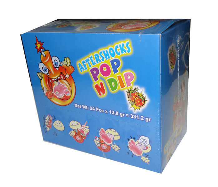 Aftershocks Pop n Dip, by Aftershocks,  and more Confectionery at The Professors Online Lolly Shop. (Image Number :4789)