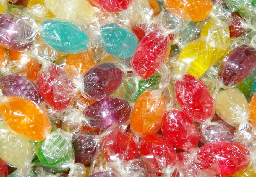 Acid Drops Bag - Mixed Colours, by Lagoon Confectionery,  and more Confectionery at The Professors Online Lolly Shop. (Image Number :4953)