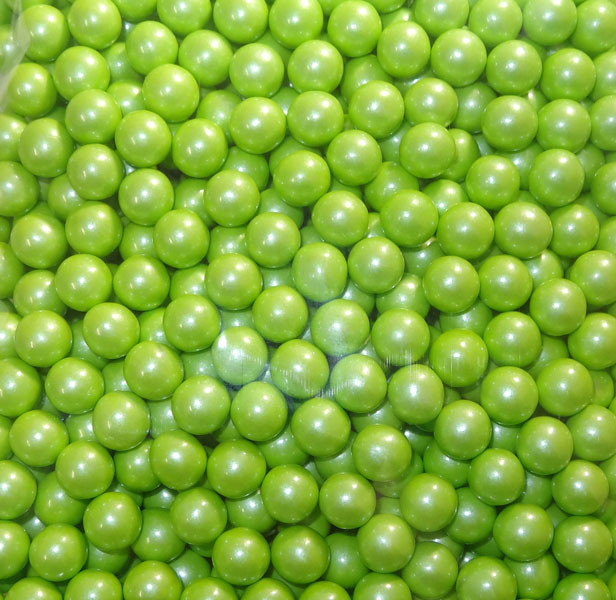 Sixlets - Shimmer Lime Green, by Sixlets,  and more Confectionery at The Professors Online Lolly Shop. (Image Number :5347)
