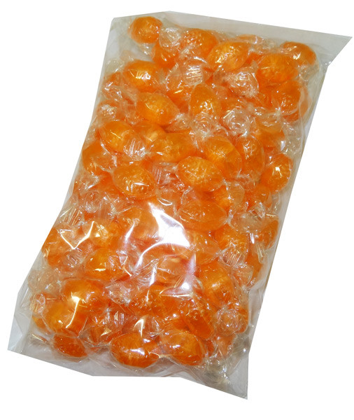 Acid Drops Bag - Orange, by Lagoon Confectionery,  and more Confectionery at The Professors Online Lolly Shop. (Image Number :5200)
