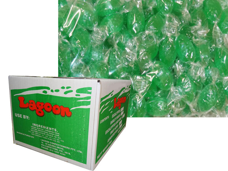Acid Drops Box - Green, by Lagoon Confectionery,  and more Confectionery at The Professors Online Lolly Shop. (Image Number :6094)