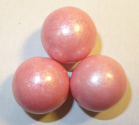 Gumballs - Shimmer Light Pink, by Oak Leaf Confections,  and more Confectionery at The Professors Online Lolly Shop. (Image Number :5251)
