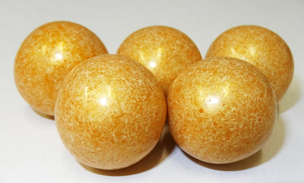 Gumballs - Shimmer Gold, by Oak Leaf Confections,  and more Confectionery at The Professors Online Lolly Shop. (Image Number :5259)