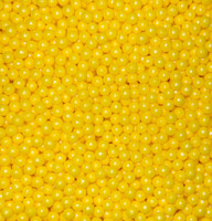 Pearls - Shimmer Yellow, by Oak Leaf Confections,  and more Confectionery at The Professors Online Lolly Shop. (Image Number :5499)