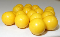 Fruit Choc Balls - Lemon Yellow, by Confectionery House,  and more Confectionery at The Professors Online Lolly Shop. (Image Number :5234)