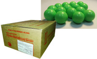 Fruit Choc Balls - Lime Green (10kg box)
