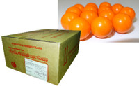 Fruit Choc Balls - Orange (10kg box)