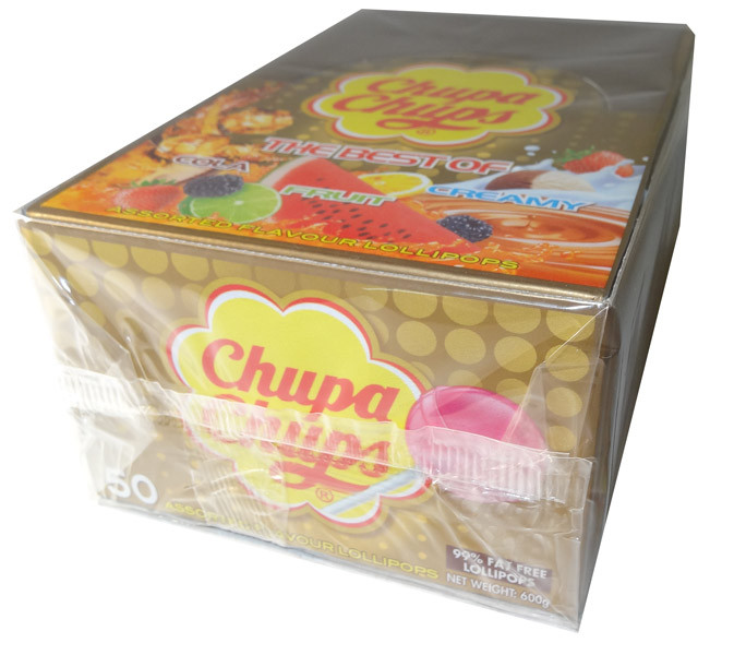 Chupa Chups - Best Of, by Chupa Chups/Perfetti Van Melle,  and more Confectionery at The Professors Online Lolly Shop. (Image Number :5919)