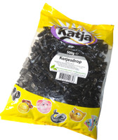 Katja licorice cats - Dutch (Katesdrop/zoete drop) (500g bag)