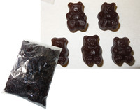 Bulk Gummi Bears Black Cherry, by Albanese Confectionery/Other,  and more Confectionery at The Professors Online Lolly Shop. (Image Number :6172)