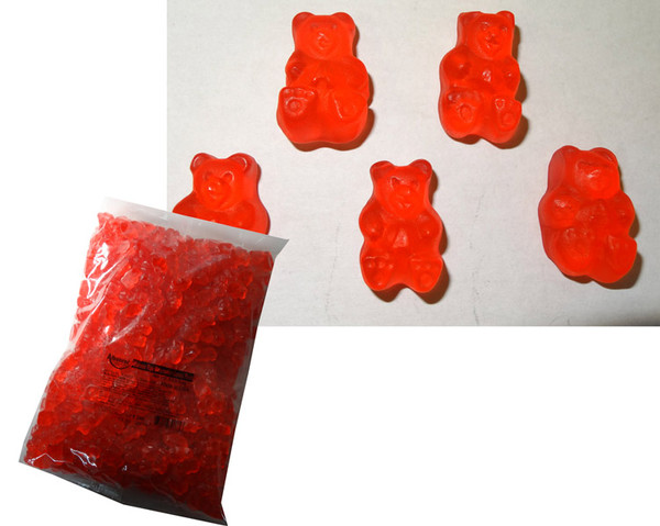 Bulk Gummi Bears Ripe Watermelon, by Albanese Confectionery/Other,  and more Confectionery at The Professors Online Lolly Shop. (Image Number :6169)