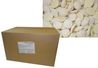 Custom Choc - White Choc Jewels with White Speckles (8kg box)