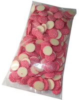 White Choc Jewels with Pink Speckles, by Confectionery Trading Company/Hugos Confectionery,  and more Confectionery at The Professors Online Lolly Shop. (Image Number :5480)