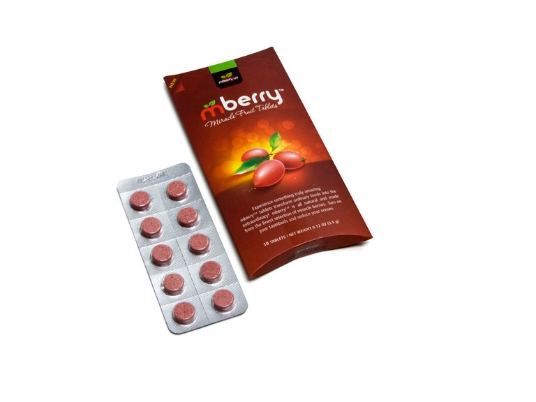 Flavour Trippers - mBerry Miracle Berries, by mBerry/Other,  and more Confectionery at The Professors Online Lolly Shop. (Image Number :5323)