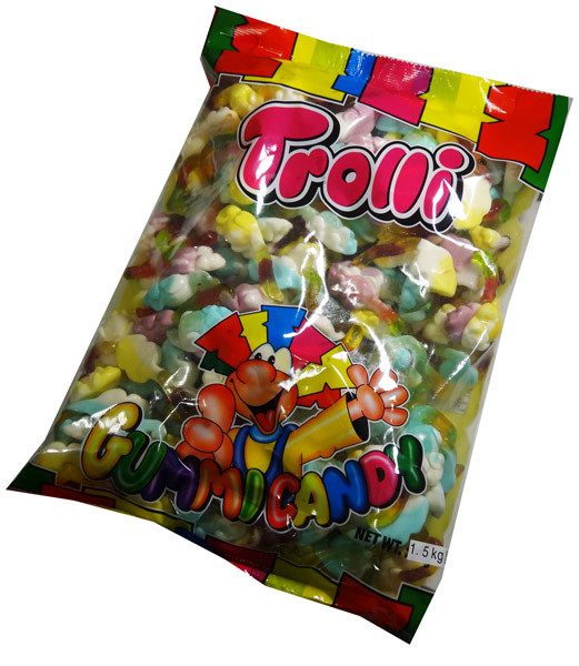 Trolli Playmouse, by Trolli,  and more Confectionery at The Professors Online Lolly Shop. (Image Number :5401)