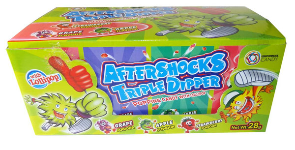 Aftershock Triple Dipper, by Other,  and more Confectionery at The Professors Online Lolly Shop. (Image Number :5873)