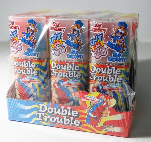 Double Trouble Candy Spray, by Other,  and more Confectionery at The Professors Online Lolly Shop. (Image Number :5917)