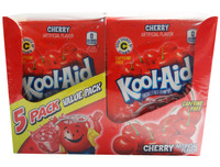 Kool Aid Pack - Cherry, by Kool Aid,  and more Beverages at The Professors Online Lolly Shop. (Image Number :6510)