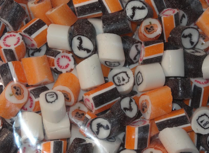 Rock Candy - Halloween Mix, by Designer Candy/Other,  and more Confectionery at The Professors Online Lolly Shop. (Image Number :5459)