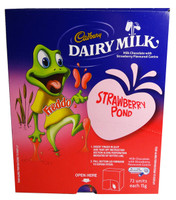 Cadbury Freddo Frog Strawberry Pond, by Cadbury,  and more Confectionery at The Professors Online Lolly Shop. (Image Number :7361)