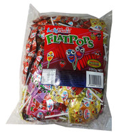 Lolly Mania Flat Pops, by Tasty Treats,  and more Confectionery at The Professors Online Lolly Shop. (Image Number :5541)