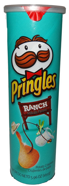 Pringles - Ranch, by Pringles,  and more Snack Foods at The Professors Online Lolly Shop. (Image Number :6448)