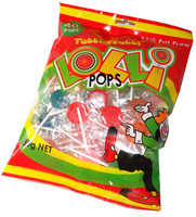 Assorted Colour Lollipops - Tutti-Frutti Flavour, by Budget Sweets/Other,  and more Confectionery at The Professors Online Lolly Shop. (Image Number :5540)