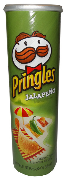 Pringles - Jalapeno, by Pringles,  and more Snack Foods at The Professors Online Lolly Shop. (Image Number :6445)